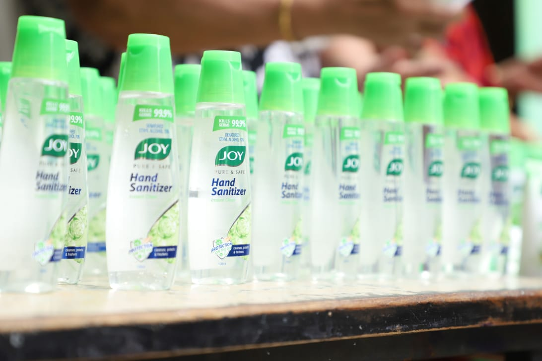 Joy Personal Care distributes one lakh hygiene kits in largest red-light area in Asia