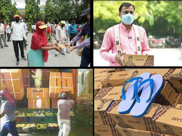 Relaxo Foundation Contributes 25,000 Pair Of Slippers To Delhi Sanitation Workers, A Salute To Unsung Warriors