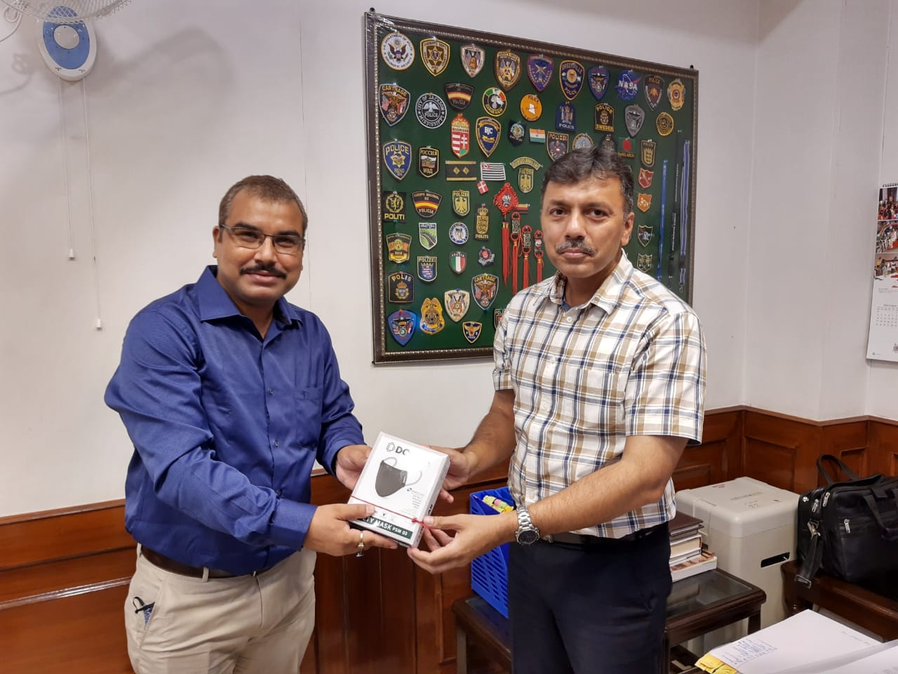 Dollar Industries Limited donates Anti-Viral Face Masks to Paramilitary Forces in New Delhi