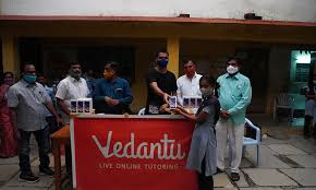 Vedantu donates 150 smartphones to government school students in Telangana