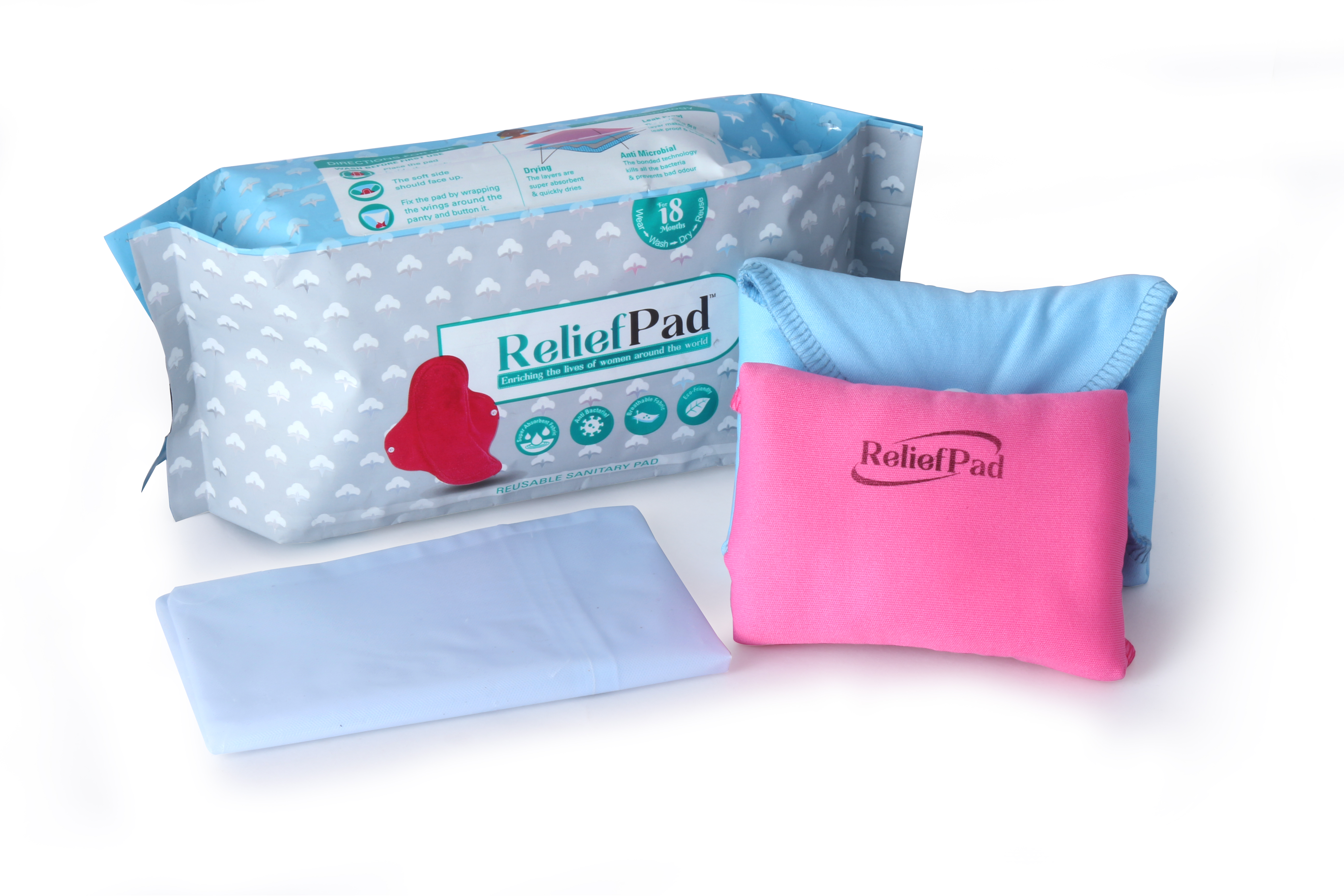 Relief Pad- A Reusable Sanitary Pad